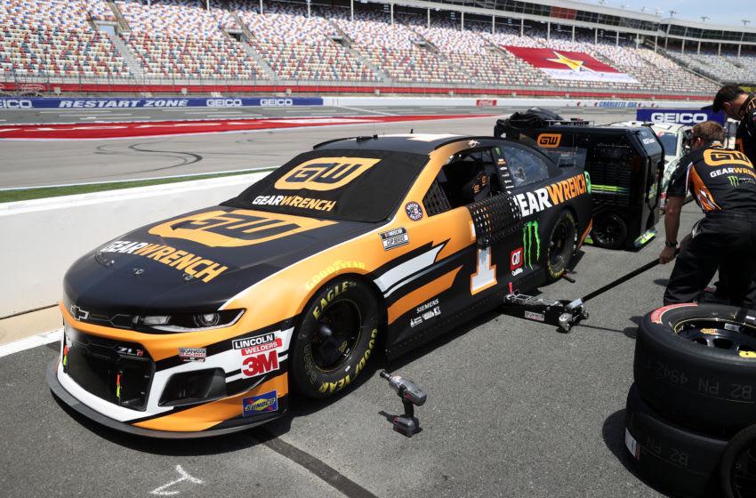 Kurt Busch, Chip Ganassi Racing, Charlotte Motor Speedway, NASCAR, Cup Series (Photo by Chris Graythen/Getty Images)