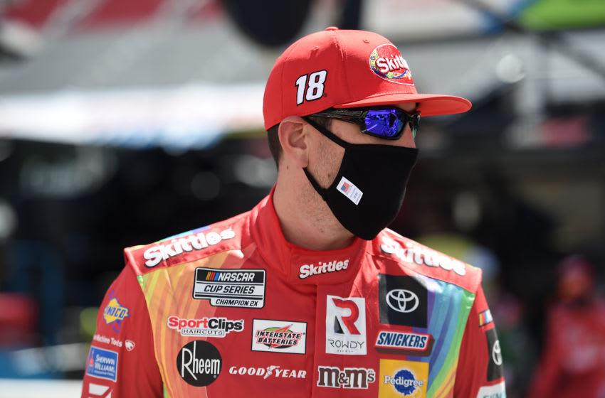 Kyle Busch, Joe Gibbs Racing, Bristol Motor Speedway, NASCAR, Cup Series (Photo by Jared C. Tilton/Getty Images)
