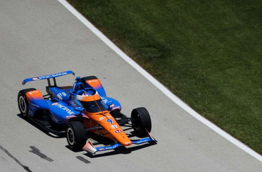Scott Dixon, Chip Ganassi Racing, Texas Motor Speedway, IndyCar (Photo by Richard Rodriguez/Getty Images)