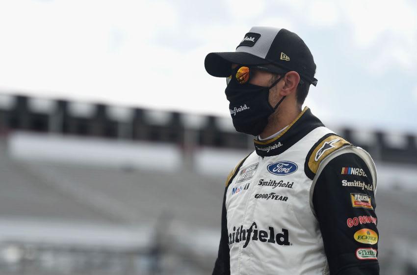 Aric Almirola, Stewart-Haas Racing, Pocono, NASCAR, Cup Series (Photo by Jared C. Tilton/Getty Images)