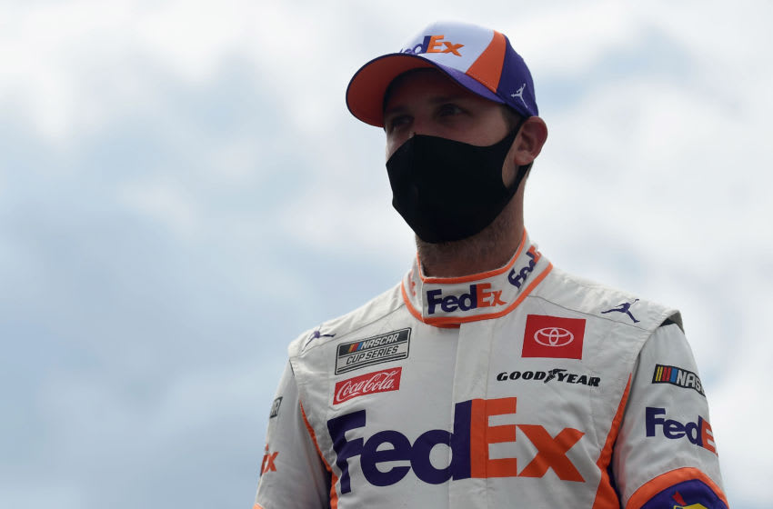 Denny Hamlin, Joe Gibbs Racing, NASCAR, Cup Series (Photo by Jared C. Tilton/Getty Images)