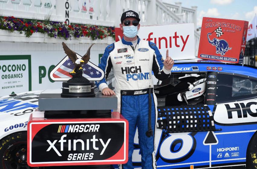 Chase Briscoe, Stewart-Haas Racing, Pocono, NASCAR, Xfinity Series (Photo by Jared C. Tilton/Getty Images)