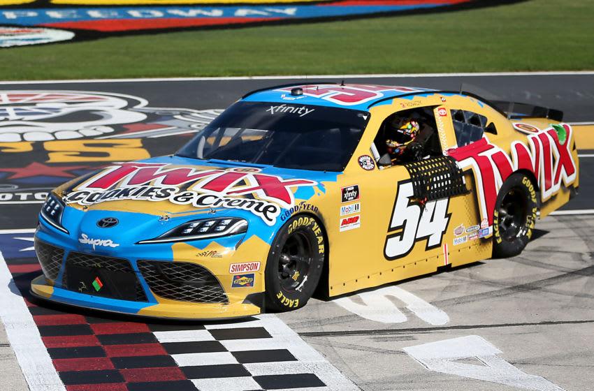 Kyle Busch, Joe Gibbs Racing, Texas, NASCAR, Xfinity Series (Photo by Brian Lawdermilk/Getty Images)