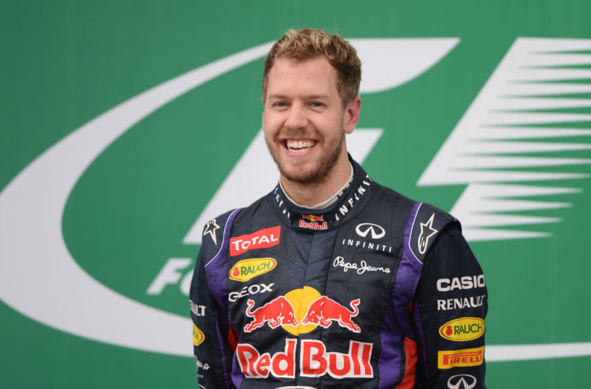 Sebastian Vettel, Red Bull Racing, Formula 1 (Photo credit: VANDERLEI ALMEIDA/AFP via Getty Images)