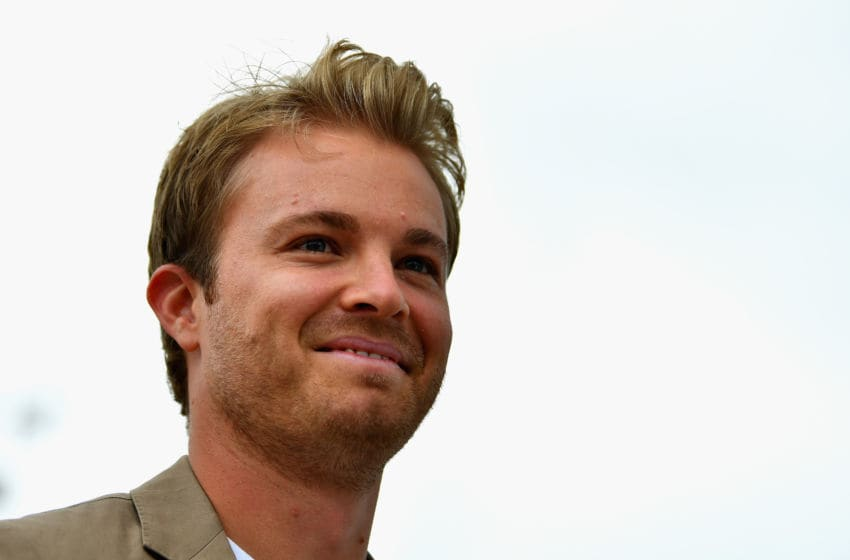 NORTHAMPTON, ENGLAND - JULY 16: 2016 F1 World Drivers Champion Nico Rosberg walks in the Paddock before the Formula One Grand Prix of Great Britain at Silverstone on July 16, 2017 in Northampton, England. (Photo by Dan Mullan/Getty Images)
