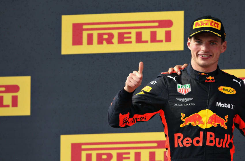 LE CASTELLET, FRANCE - JUNE 24: Second place finisher Max Verstappen of Netherlands and Red Bull Racing (Photo by Charles Coates/Getty Images)