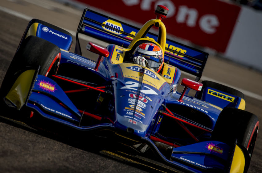 Alexander Rossi, Andretti Autosport, St. Petersburg, IndyCar (Photo by Brian Cleary/Getty Images)