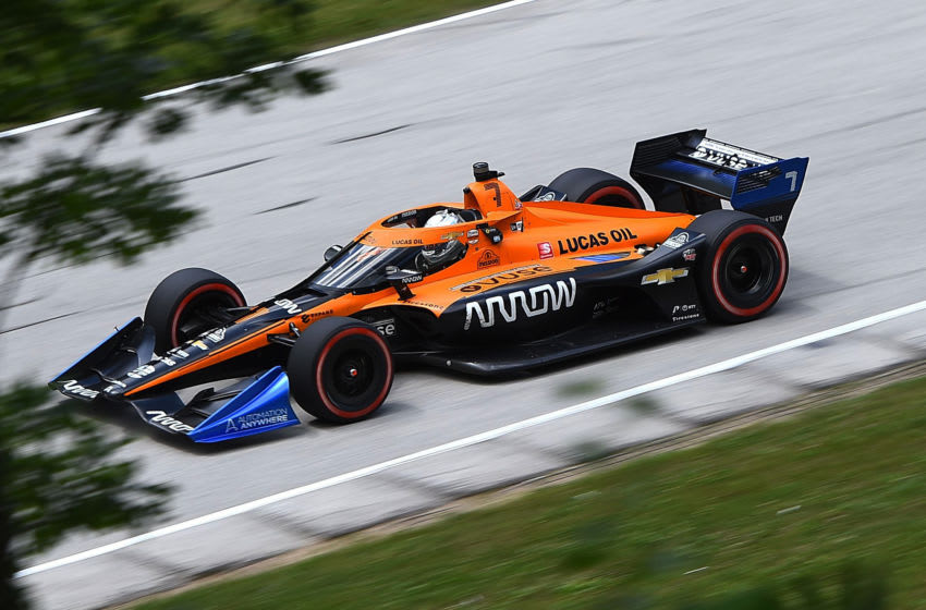 Oliver Askew, Arrow McLaren SP, IndyCar (Photo by Stacy Revere/Getty Images)