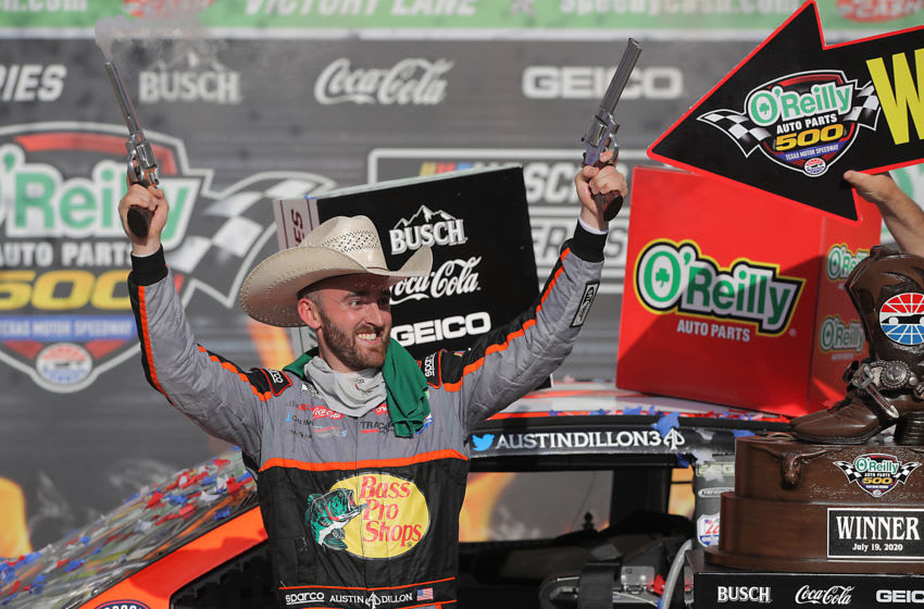 Austin Dillon, Richard Childress Racing, NASCAR (Photo by Chris Graythen/Getty Images)