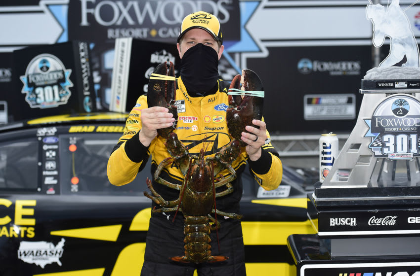 Brad Keselowski, Team Penske, New Hampshire, NASCAR (Photo by Jared C. Tilton/Getty Images)