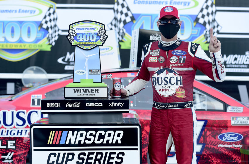 Kevin Harvick, Stewart-Haas Racing, NASCAR (Photo by Jared C. Tilton/Getty Images)