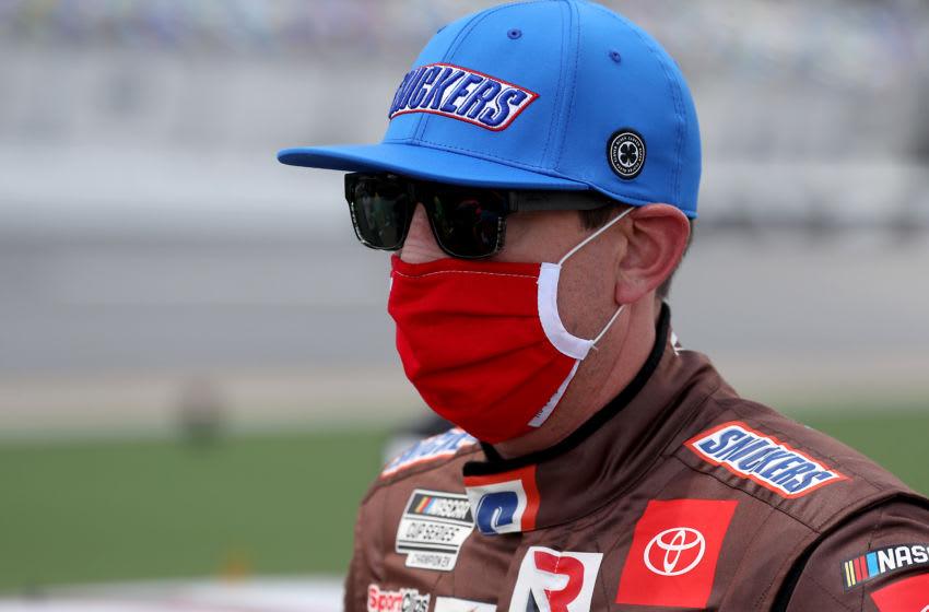 Kyle Busch, Joe Gibbs Racing, NASCAR (Photo by Chris Graythen/Getty Images)