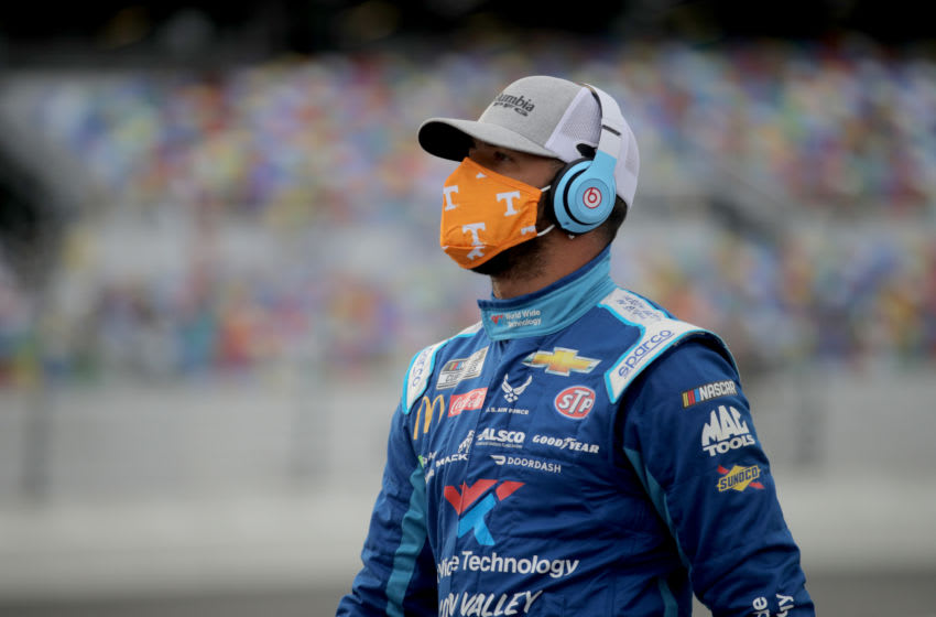 Bubba Wallace, Richard Petty Motorsports, NASCAR (Photo by Chris Graythen/Getty Images)