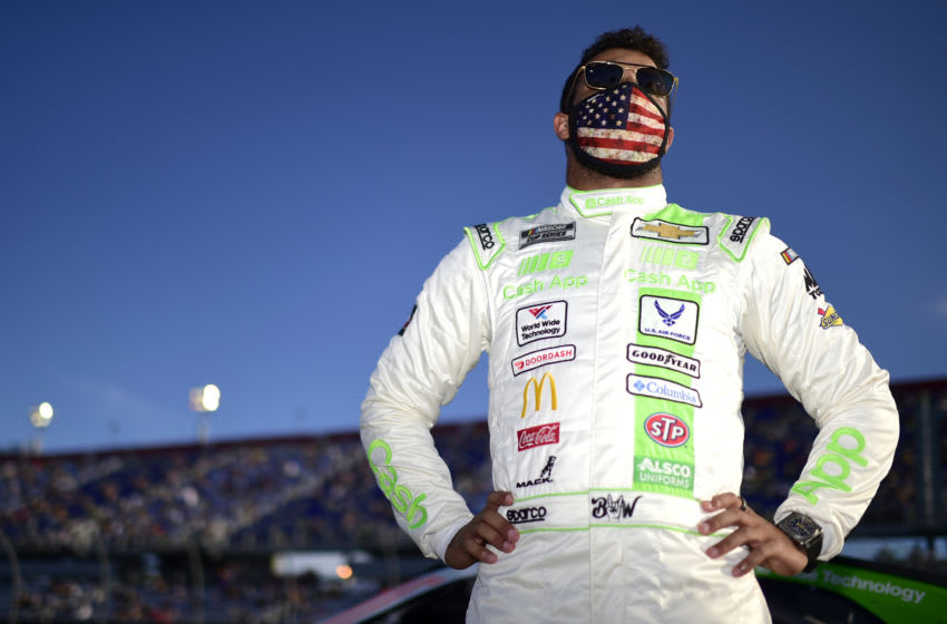 Bubba Wallace, Richard Petty Motorsports, NASCAR (Photo by Jared C. Tilton/Getty Images)