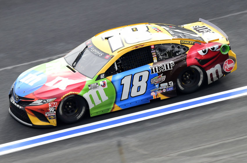 Kyle Busch, Joe Gibbs Racing, NASCAR (Photo by Jared C. Tilton/Getty Images)