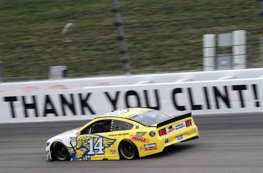 Clint Bowyer, Stewart-Haas Racing, NASCAR (Photo by Chris Graythen/Getty Images)