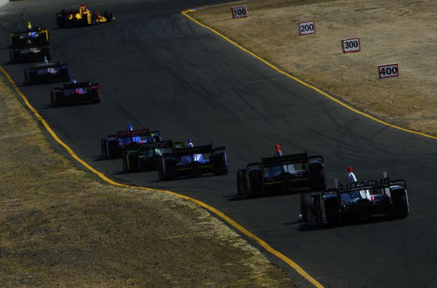 SONOMA, CA - AUGUST 30: General view of the back stretch during the Verizon IndyCar Series GoPro Grand Prix of Sonoma at Sonoma Raceway on August 30, 2015 in Sonoma, California. (Photo by Robert Laberge/Getty Images)