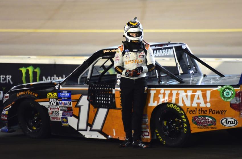 PHOENIX, ARIZONA - NOVEMBER 08: Tyler Ankrum, NASCAR Truck Series driver of the #17 LiUNA DGR-Crosley Toyota (Photo by Jared C. Tilton/Getty Images)