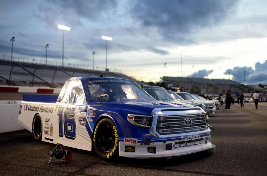 Austin Hill, Hattori Racing Enterprises, NASCAR (Photo by Jared C. Tilton/Getty Images)