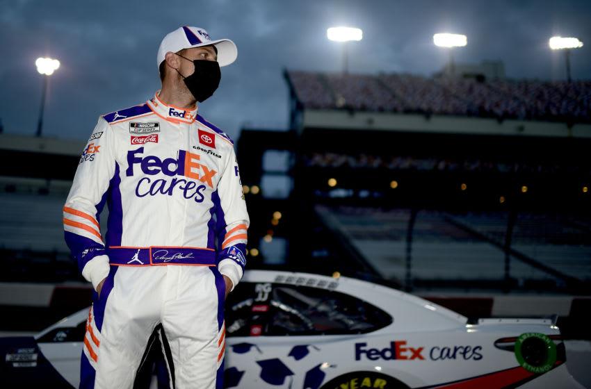 Denny Hamlin, Joe Gibbs Racing, NASCAR (Photo by Jared C. Tilton/Getty Images)