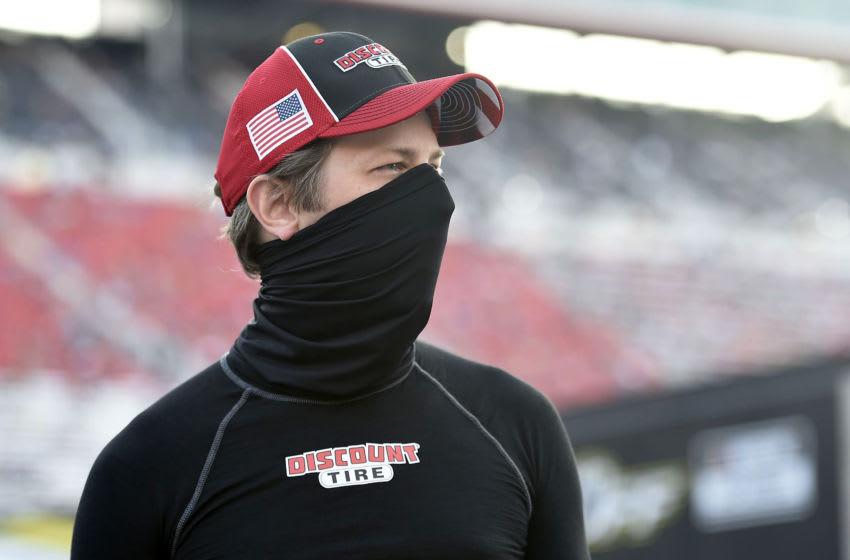 Brad Keselowski, Team Penske, NASCAR (Photo by Jared C. Tilton/Getty Images)