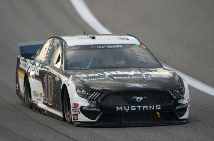 Aric Almirola, Stewart-Haas Racing, NASCAR (Photo by Kyle Rivas/Getty Images)