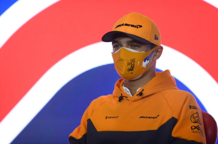 Lando Norris, McLaren, Formula 1 (Photo by Rudy Carezzevoli/Getty Images)