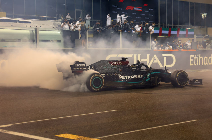 Lewis Hamilton, Mercedes, Formula 1 (Photo by Giuseppe Cacace - Pool/Getty Images)