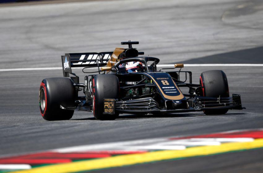 Romain Grosjean, Rich Energy Haas, Formula 1 (Photo by Johannes Schedl/SEPA.Media /Getty Images)