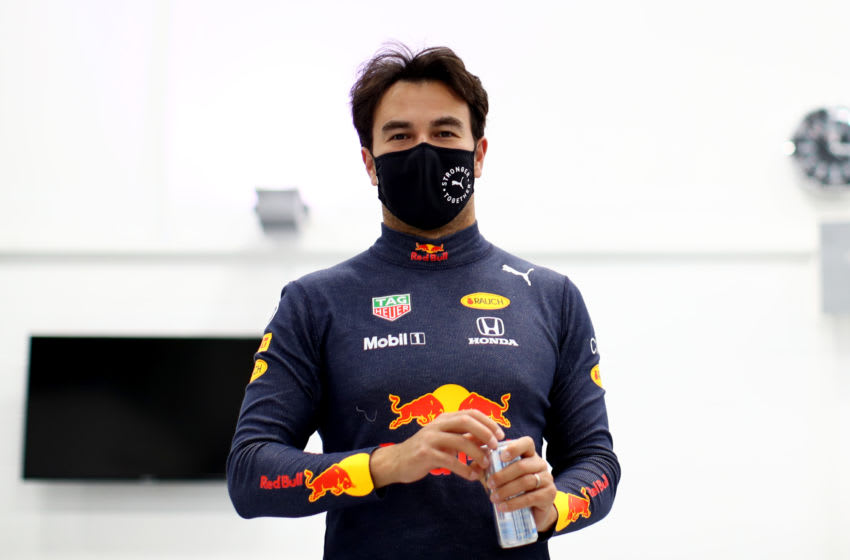 Sergio Perez, Red Bull, Formula 1 (Photo by Mark Thompson/Getty Images)