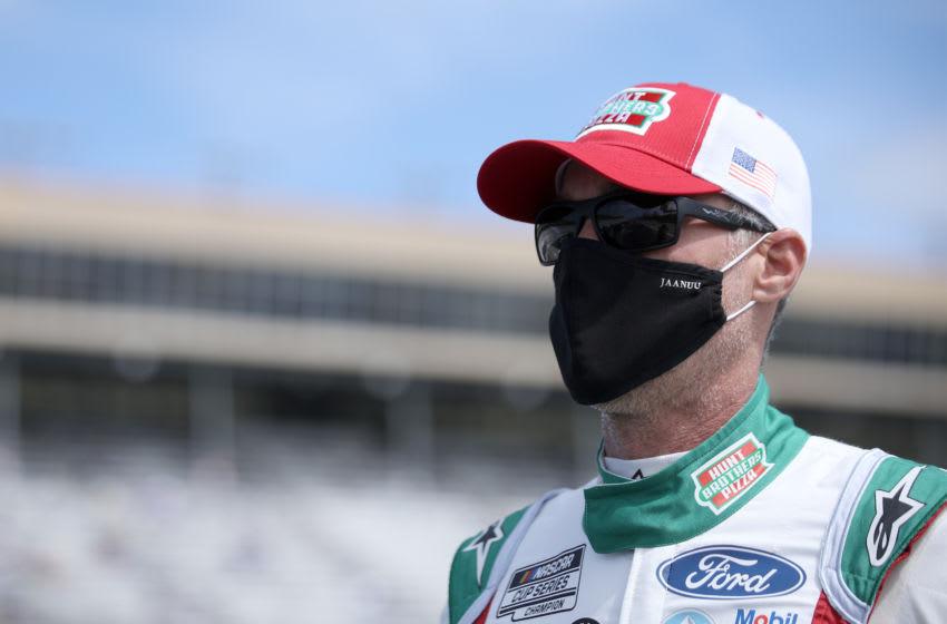 Kevin Harvick, Stewart-Haas Racing, NASCAR (Photo by Sean Gardner/Getty Images)