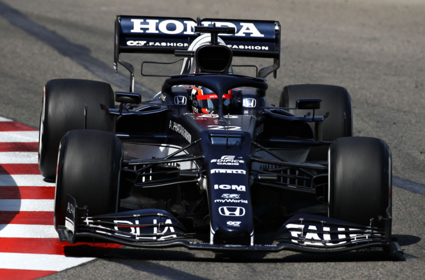 Yuki Tsunoda, AlphaTauri, Formula 1 (Photo by Mark Thompson/Getty Images)