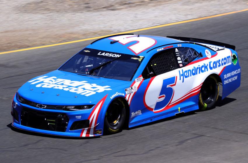 Kyle Larson, Hendrick Motorsports, NASCAR (Photo by Carmen Mandato/Getty Images)