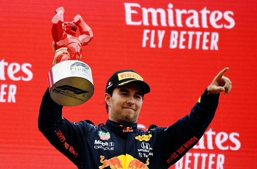 Sergio Perez, Red Bull, Formula 1 (Photo by Nicolas Tucat - Pool/Getty Images)