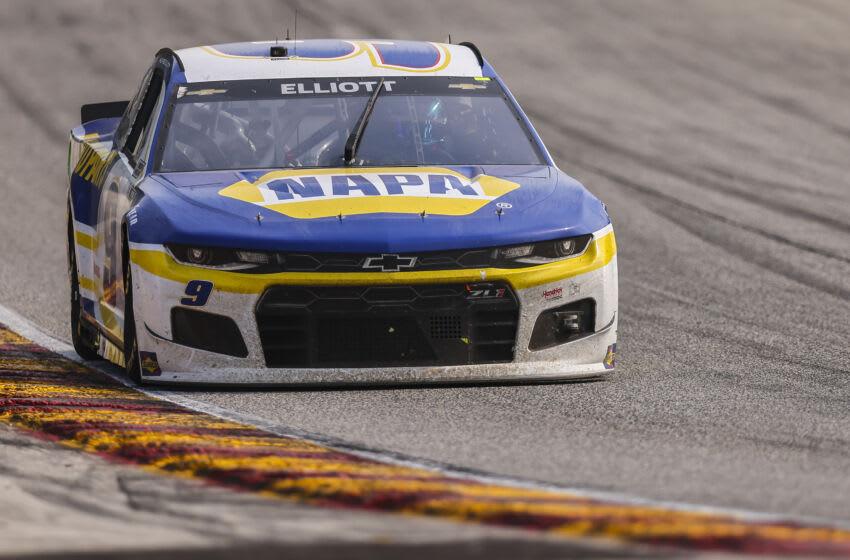 Chase Elliott, Hendrick Motorsports, NASCAR (Photo by James Gilbert/Getty Images)