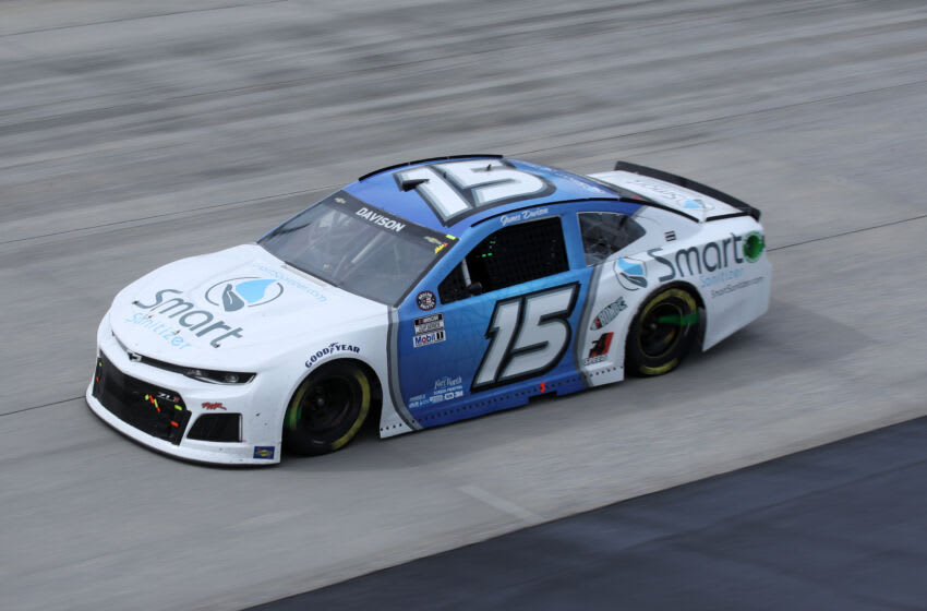 James Davison, Rick Ware Racing, NASCAR (Photo by Sean Gardner/Getty Images)