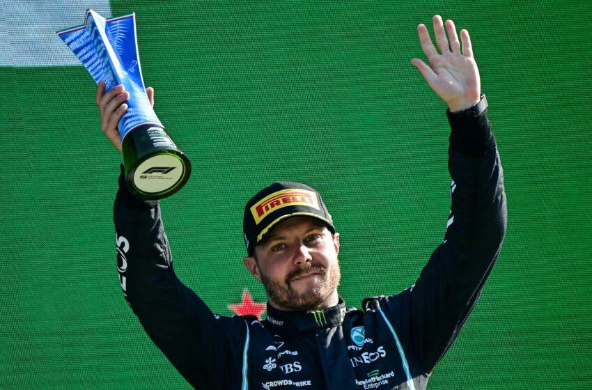 Valtteri Bottas, Mercedes, Formula 1 (Photo by ANDREJ ISAKOVIC/AFP via Getty Images)