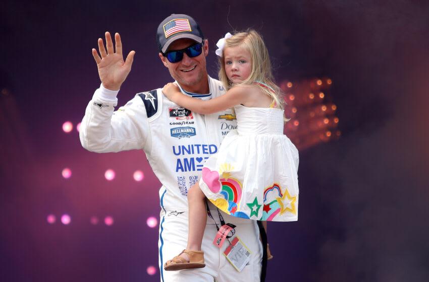 Dale Earnhardt Jr., JR Motorsports, NASCAR (Photo by Sean Gardner/Getty Images)