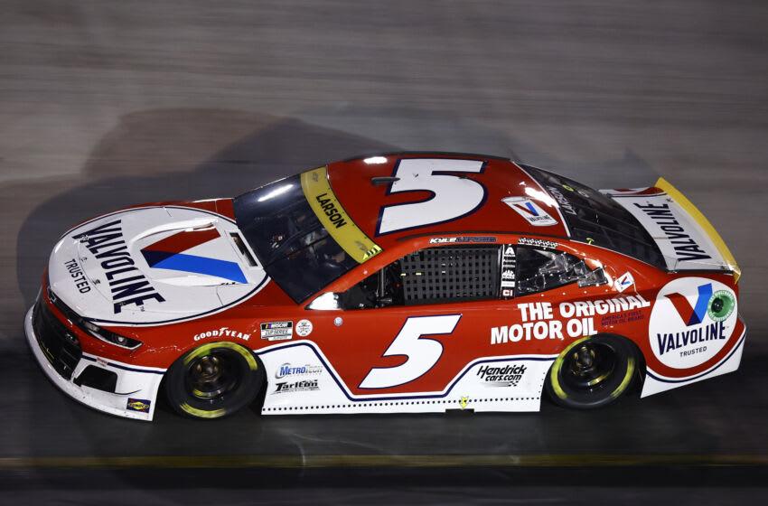 Kyle Larson, Hendrick Motorsports, NASCAR (Photo by Jared C. Tilton/Getty Images)