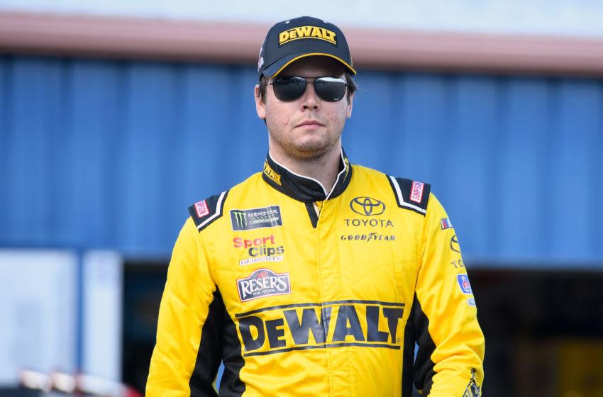 Erik Jones, Joe Gibbs Racing, NASCAR - Mandatory Credit: Mike DiNovo-USA TODAY Sports