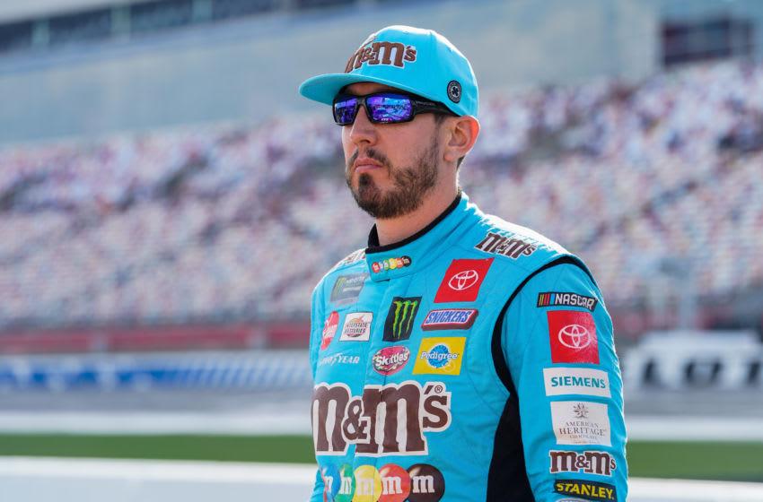 Kyle Busch, Joe Gibbs Racing, NASCAR - Mandatory Credit: Jim Dedmon-USA TODAY Sports