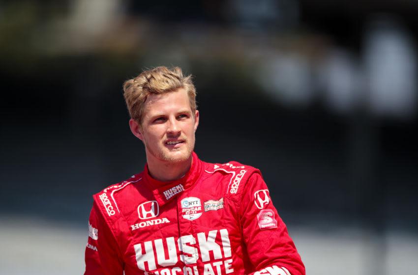 Marcus Ericsson, Chip Ganassi Racing, IndyCar - Mandatory Credit: Mark J. Rebilas-USA TODAY Sports