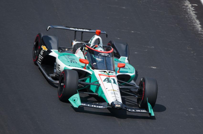 Dalton Kellett, A.J. Foyt Enterprises, IndyCar Mandatory Credit: Mark J. Rebilas-USA TODAY Sports