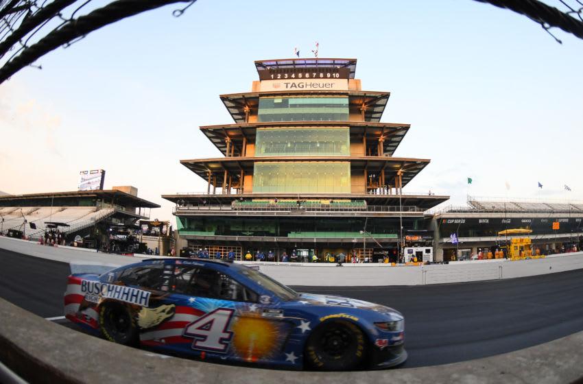 Kevin Harvick, Stewart-Haas Racing, NASCAR - Mandatory Credit: Mike Dinovo-USA TODAY Sports