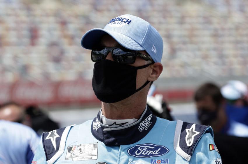 Kevin Harvick, Stewart-Haas Racing, NASCAR -Mandatory Credit: Gerry Broome/Pool Photo via USA TODAY Network