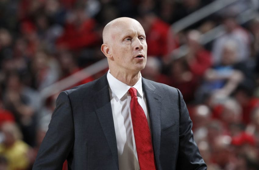 Head coach Chris Mack of the Louisville Cardinals (Photo by Joe Robbins/Getty Images)