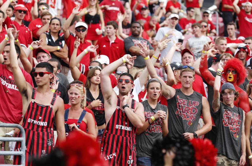 Louisville Football: View from the Villen's vs Western ...