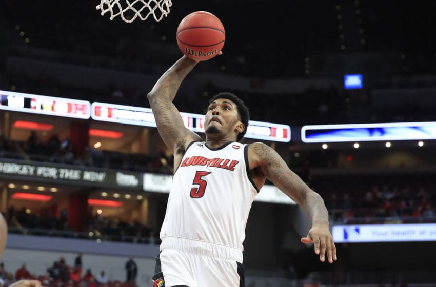Malik Williams #5 of the Louisville Cardinals(Photo by Andy Lyons/Getty Images)