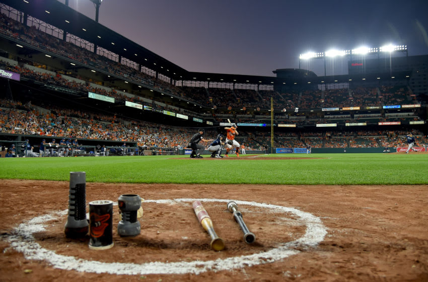 BALTIMORE, MD - JULY 13: A general view during the game between the Baltimore Orioles and the Tampa Bay Rays during game two of a doubleheader at Oriole Park at Camden Yards on July 13, 2019 in Baltimore, Maryland. (Photo by Will Newton/Getty Images)