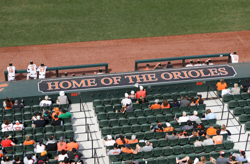 BALTIMORE, MARYLAND - SEPTEMBER 22: A general view during the Baltimore Orioles and Seattle Mariners game at Oriole Park at Camden Yards on September 22, 2019 in Baltimore, Maryland. (Photo by Rob Carr/Getty Images)